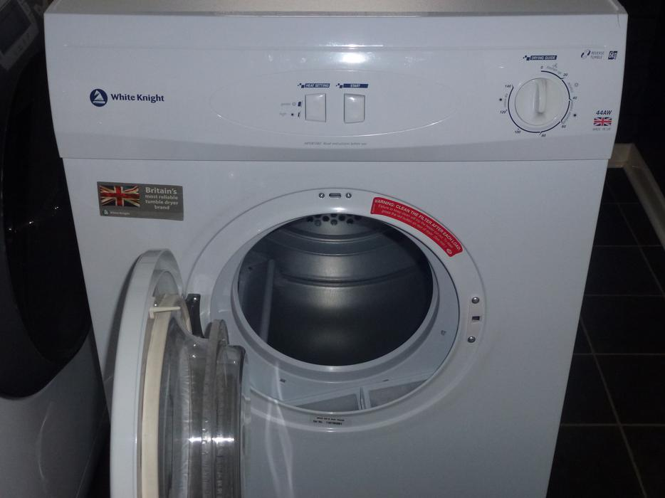 White Knight Tumble Dryer Model No 44aw Excellent