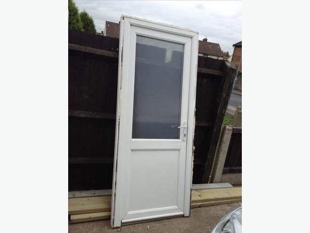Upvc back door bilston wolverhampton for Ready made upvc doors