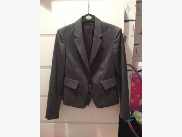 Ladies grey blazer jacket size 12