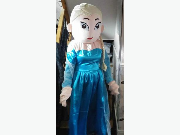 Elsa mascot outfit for hire