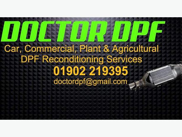 Doctor Dpf  car commercial plant Dpf and Exhaust silencer scr cleaning