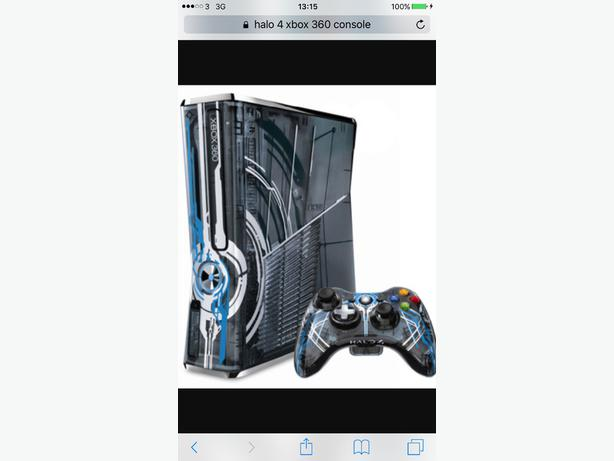 Halo 4 Xbox 360 Console Halo 4 Limited Edition Xbox 360