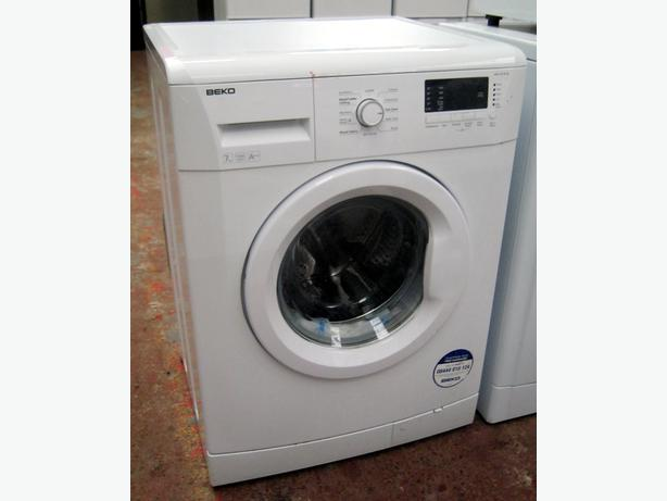 beko 1300 spin 7kg capacity washing machine with warranty. Black Bedroom Furniture Sets. Home Design Ideas