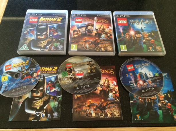 Lego Games For Ps3 : Ps playstation lego games harry potter batman lord
