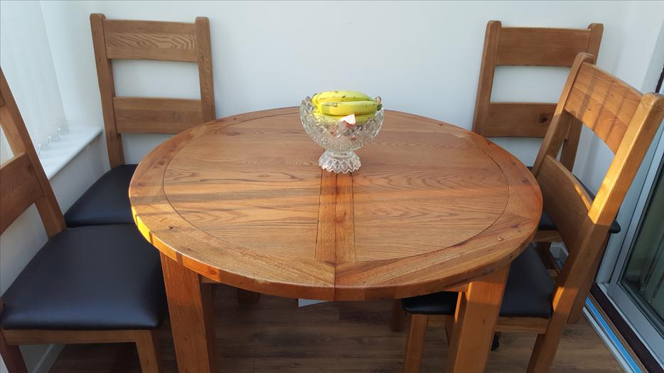 Solid Oak Dining Room Set Wolverhampton Wolverhampton