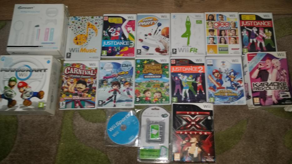 Nintendo Wii With Wii Fit And 15 Games Bilston Wolverhampton