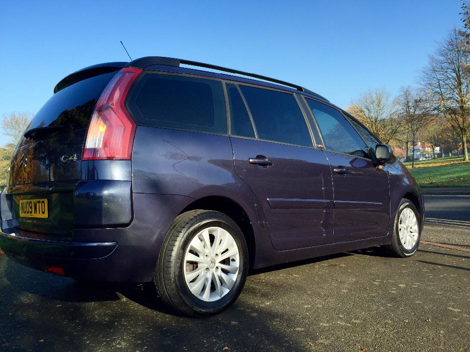 citroen c4 grand picasso 1 6 hdi diesel automatic egs vtr 7 seats seater fsh dudley walsall. Black Bedroom Furniture Sets. Home Design Ideas