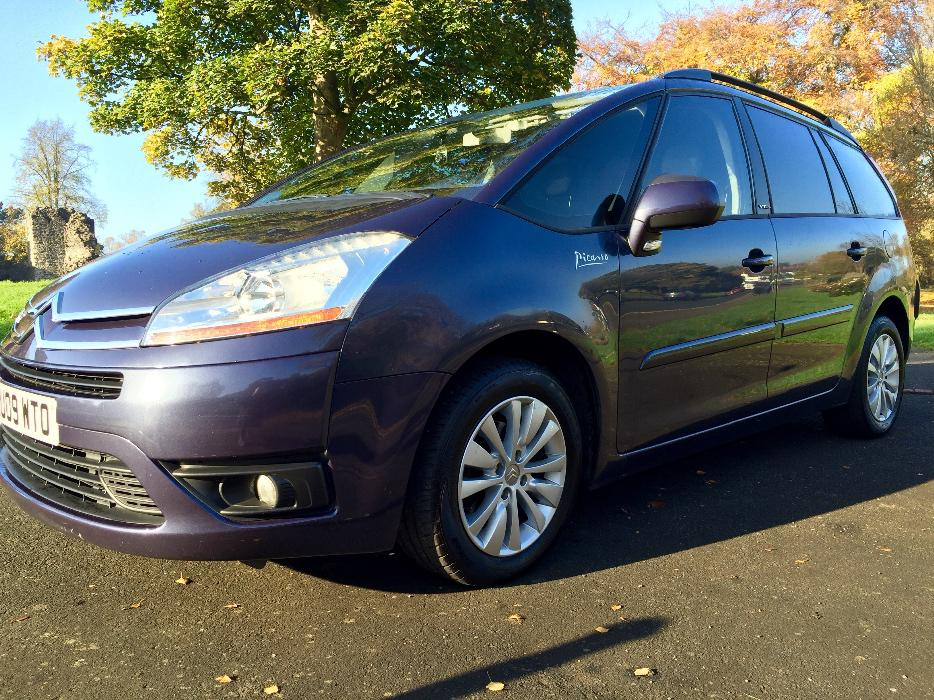 citroen c4 grand picasso 1 6 hdi diesel automatic egs vtr 7 seats seater fsh dudley wolverhampton. Black Bedroom Furniture Sets. Home Design Ideas