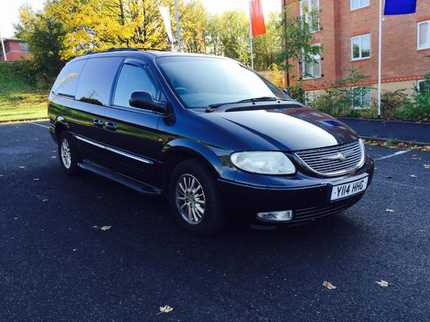 CHRYSLER GRAND VOYAGER LPG gas LIMITED EDYTION DUDLEY ...