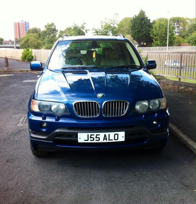 2015 Bmw X5 Transmission: Bargain 2002 BMW E53 X5 Blue 3.0 Auto 4x4 MOT 2016 Service