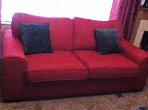Red Sofa Dfs WOLVERHAMPTON Dudley