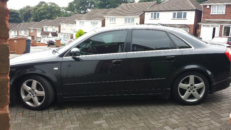 Audi A4 Outside Black Country Region Dudley