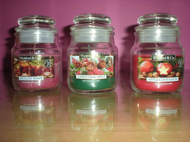 Christmas candle bundle brand new ideal gifts sedgley for Different brands of candles