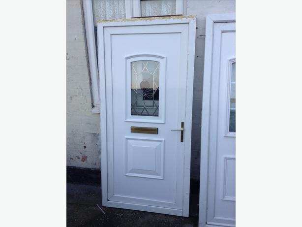 Front upvc door bilston dudley for Ready made upvc doors