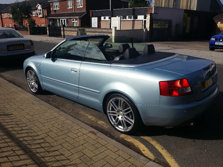 audi a4 convertible 2 5 tdi v6 sport 2004 west bromwich dudley. Black Bedroom Furniture Sets. Home Design Ideas