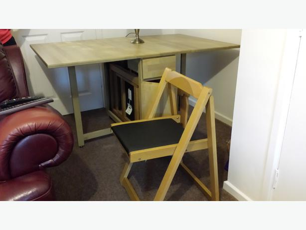 Fold Out Dining Table With Chairs West Bromwich Wolverhampton