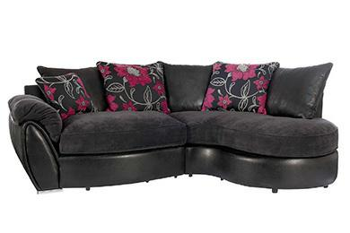 Corner Sofa With Swivel Chair DUDLEY Dudley
