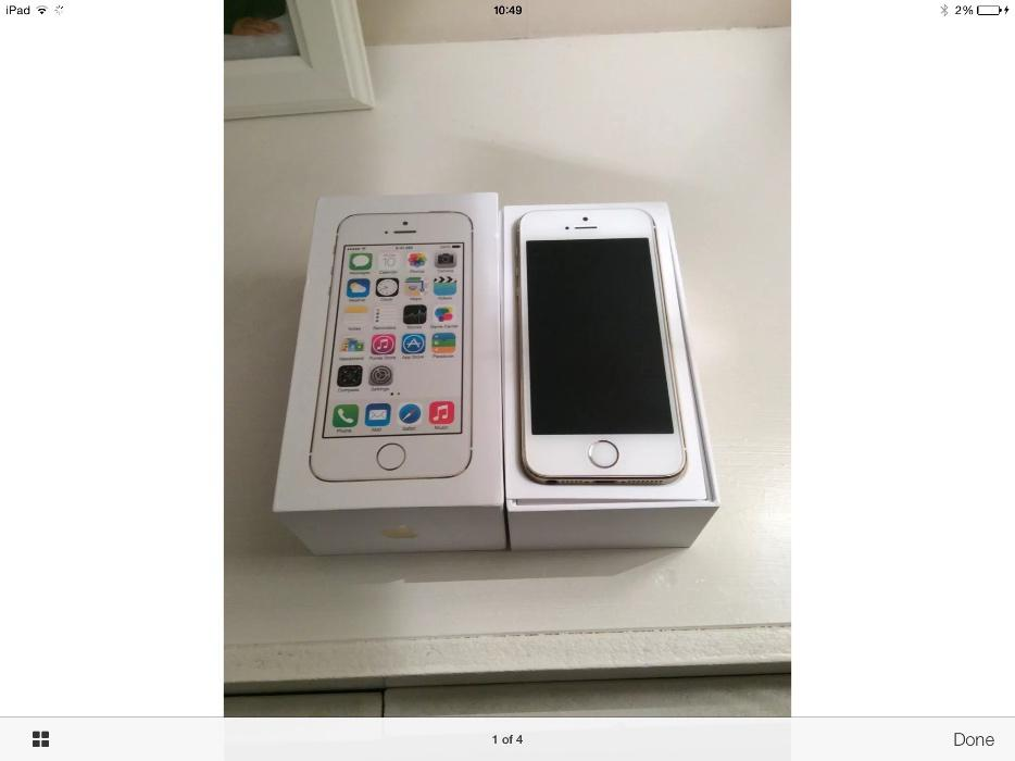 iphone 5s white and gold iphone 5s white gold 16gb willenhall dudley 17522