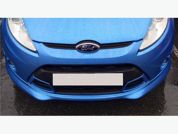 Fiesta MK 7/ MK 8 Asian Front Grill Inserts in vision blue