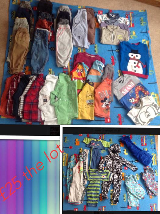 Bundle of boys 12 18m clothes 40 items mainly from next  : 104909424934 from www.usedwolverhampton.co.uk size 525 x 700 jpeg 73kB