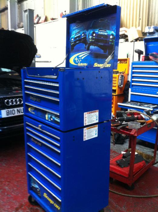 Limited Edition Subaru Snap On Tool Box Walsall Sandwell