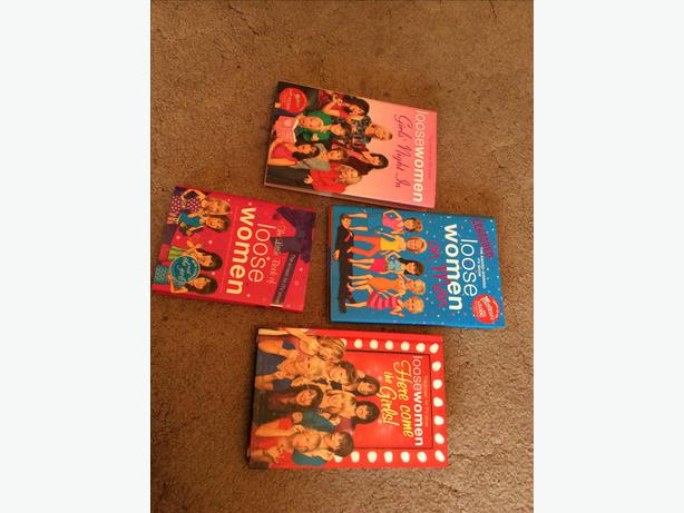 Hardback loose women books