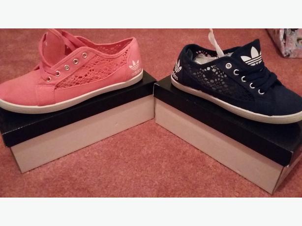764dd53a80ba91 Adidas lace pumps !! Wednesbury