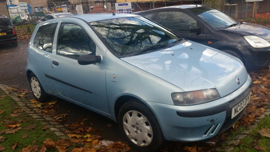 2003 Fiat Punto 1 2 In Good Working Order Mot Jan 163 370no