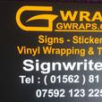 Gwraps Signwriters - Cars bikes and commercial vehicles all covered