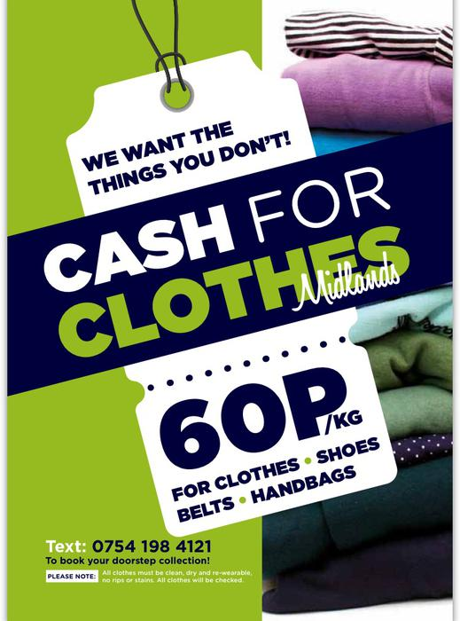Sell used clothes for cash online