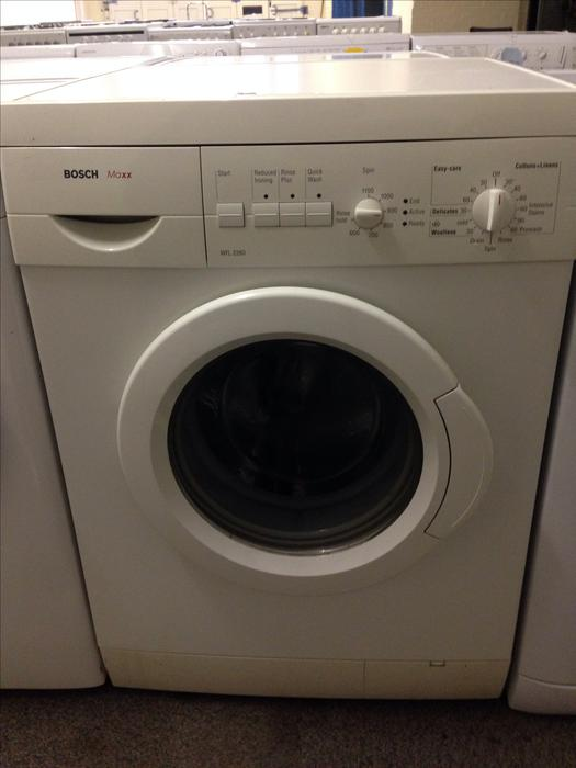 bosch maxx 6 kg 1100 spin washing machine with guarantee. Black Bedroom Furniture Sets. Home Design Ideas
