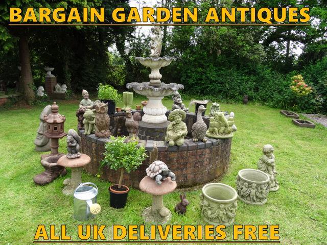 Bargain Garden Antiques Offering Gift Ideas Outside Black