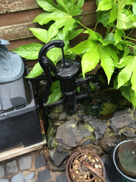 Pond pump fish filter system sandwell dudley for Used fish pond filters