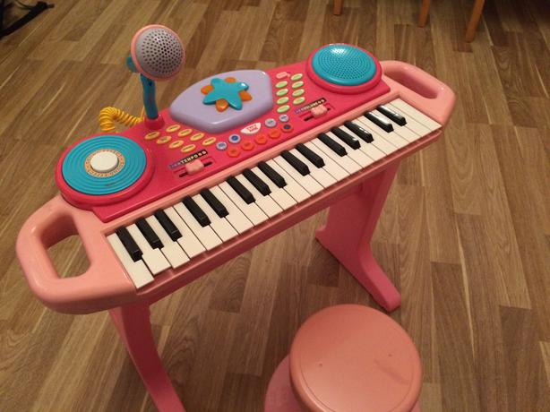 Childrens Piano With Stool And Microphone Smethwick Dudley