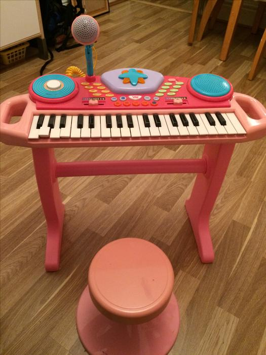Childrens Piano With Stool And Microphone Smethwick Sandwell