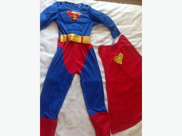 superman costume age 7-8
