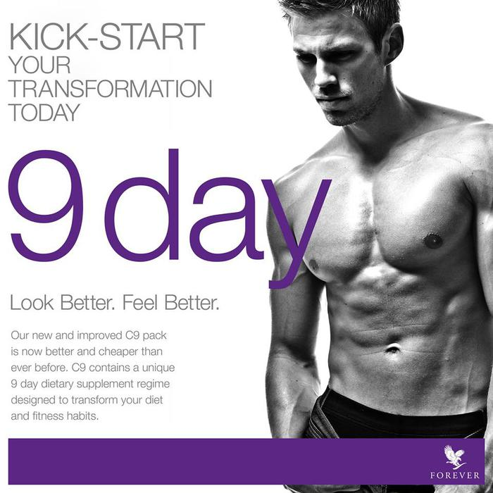 forever living clean 9 instructions