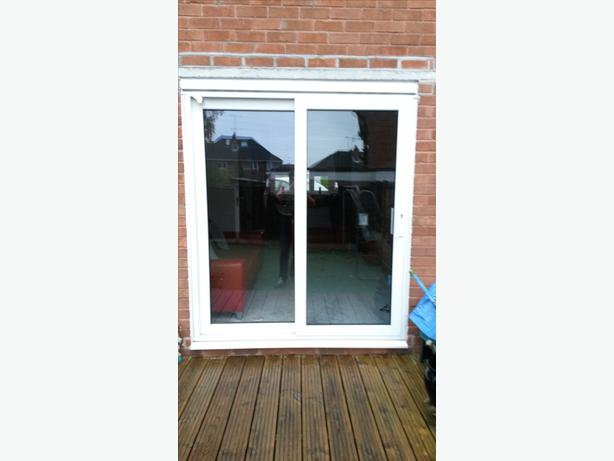 Double glazed upvc patio door and frame sedgley dudley for Double glazed upvc patio doors