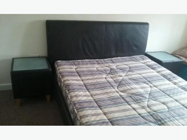 King Size Double Bed With Mattress And Sidetables Price With Delivery Wednesbury Sandwell