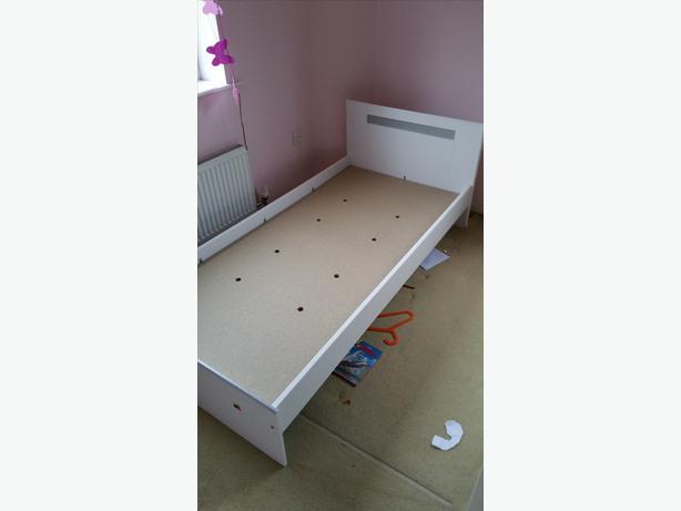 Ikea single bed with sultan mattress wolverhampton dudley for Ikea single futon