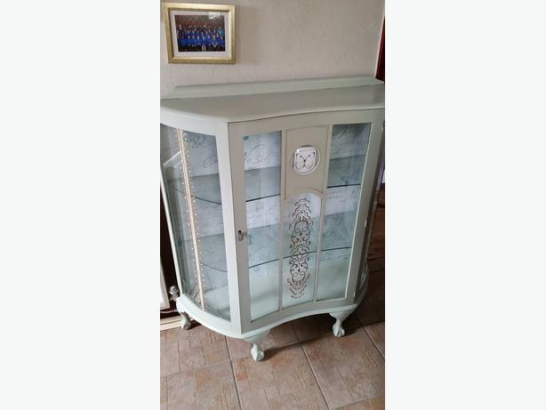 glass cabinet bow fronted dudley wolverhampton