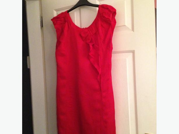Ladies red dress (Oasis)
