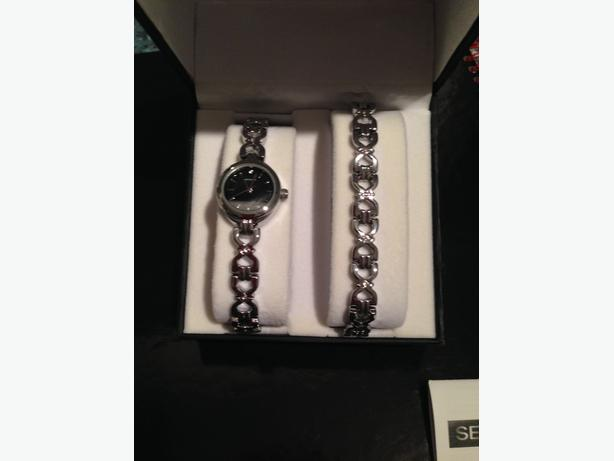Ladies Watch and Bracelet set (Sekonda) - NEW!