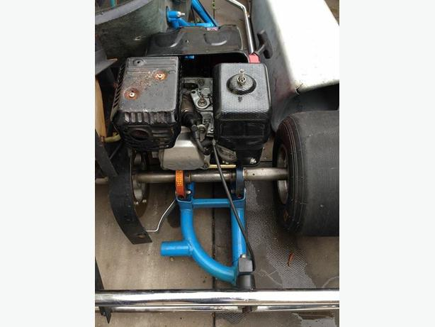 Go kart twin engine 160cc for sale bloxwich walsall for Motor go kart for sale