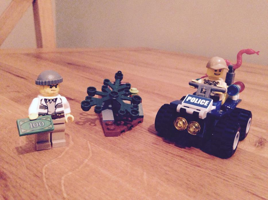 Lego Atv Patrol 60065 Kingswinford Dudley