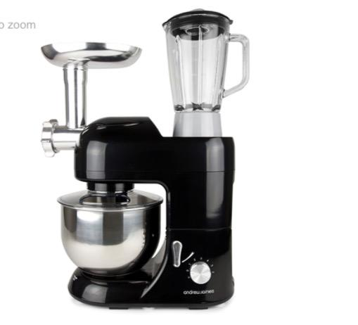 Andrew james food mixer blender mincer brandnew 60ono for What brand of blender is used on the chew