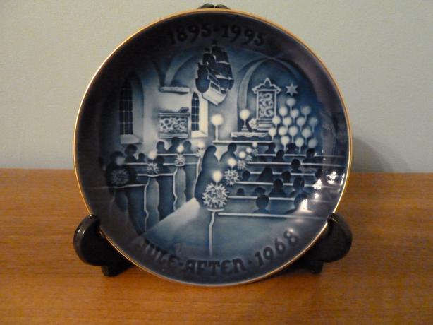 1994 VINTAGE BING & GRONDAHL 1885-1995 CENTENNIAL PLATE