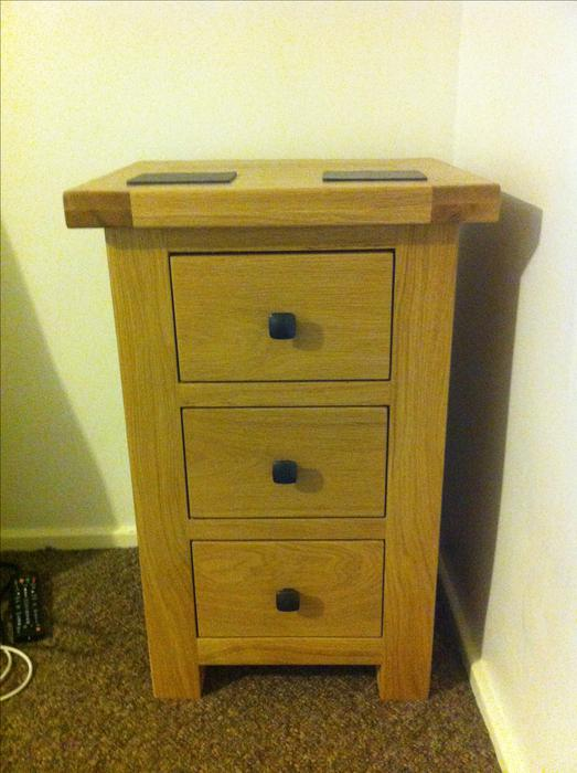 2 X New Oak Furniture Barn Chester Bedside Tables Still Boxed Walsall Dudley