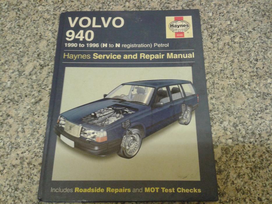 Volvo 940 1990 1996 Haynes Manual Petrol Stourbridge Sandwell