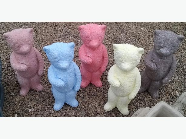 teddies for garden or memorial use